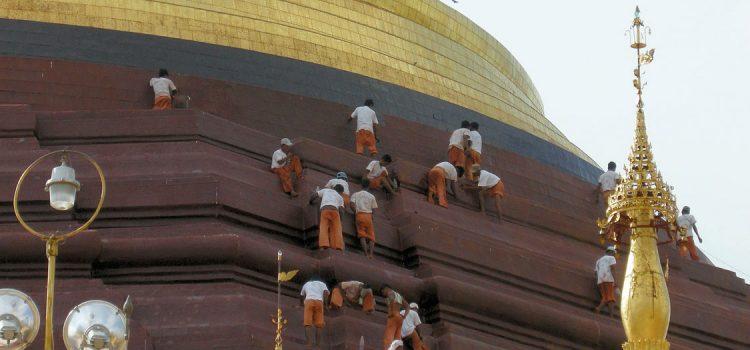 Buddhist Initiation at Shwedagon